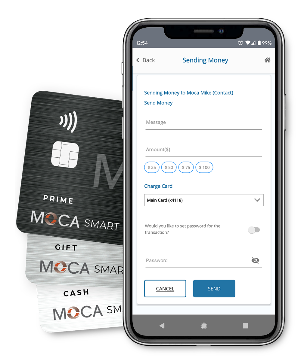 MOCA Smart Card, MOCA Money and MOCA App