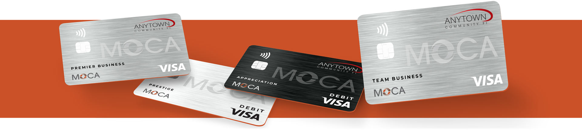 MOCA cards for business